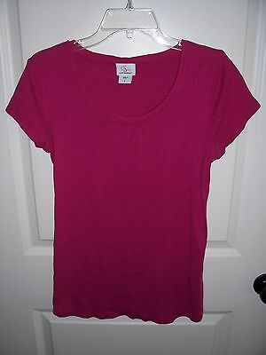 Ladies Pink Maternity Top - Size Large - Oh Baby by Motherhood Brand