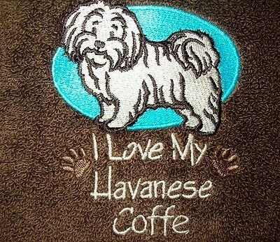Love My Havenese Dog Breed Personalized Embroidered SWEATSHIRT Nice