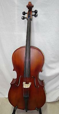 1/4 Kreisler Cello No 130 Good Tone solid wood with bow and case