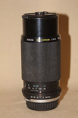 KIRON KINO 80-200mm 1:4.5 ZOOM LENS WITH MACRO FOR OLYMPUS OM 2955