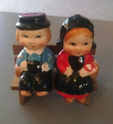 Vintage Taiwan Republic of China Salt & Pepper Shakers
