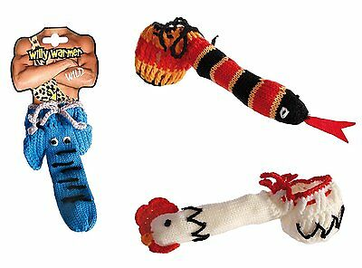Men's Knitted Willy Warmer Sock Elephant, Snake, Chicken / Cock, Stag Night Fun
