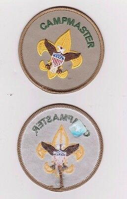 BSA Campmaster Patch - badge of office / position patch