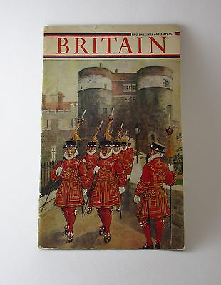 Britain Pictorial Education Treasury of Pictures Booklet Circa 1950s