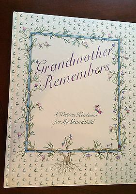 Book - Grandmother Remembers -  A Written Heirloom for My Grandchild