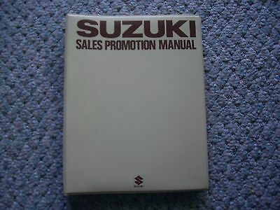 Suzuki Sales Promotion Manual: Oem Japan: Vehicles And Motorcycles: New