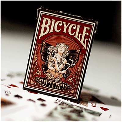 Schmetterling Bicycle Deck von US Spielkarte