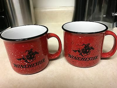 2 total WINCHESTER Arms Ceramic Coffee the american legend CUP / MUG