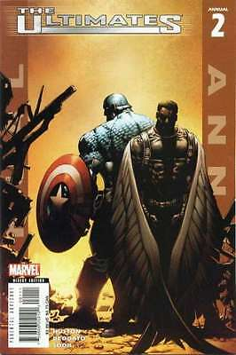 Ultimates 2 (2005 series) Annual #2 in Near Mint condition. FREE bag/board
