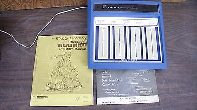 Heathkit ET-3300 Laboratory Breadboard TESTED WORKS!