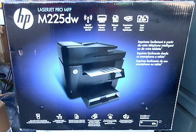 HP LaserJet Pro M225DW All-In-One Laser Printer Copy print Fax Scan New Sealed