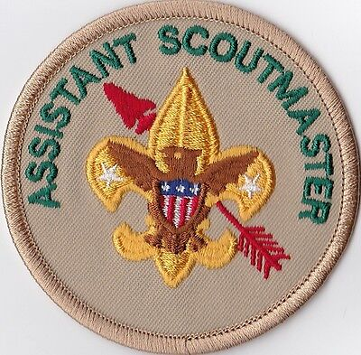 OA Assistant Scoutmaster Position Patch, Gauze Backing, Mint!
