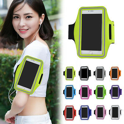 Sports Elastic Gym Running Armband Case Cover Pouch Holder For iPhone 7 Plus