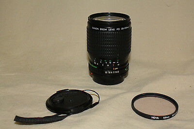 CANON FDn 35-105mm 1:3.5-4.5 ZOOM LENS FOR CANON FD M4/3 MIRRORLESS 6853