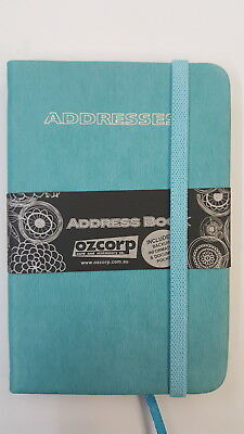 Ozcorp Mini Address Book 8.5x12.5cm - Teal