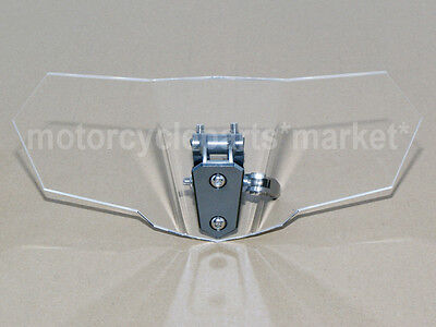 Windscreen Deflector Windshield High Motorcycle Clear For Honda CB500X 2013 2014