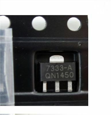 10Pcs SOT-89 Consumption Ldo HT7333 HT7333-A 3.3V Voltage Regulator Low Power wp