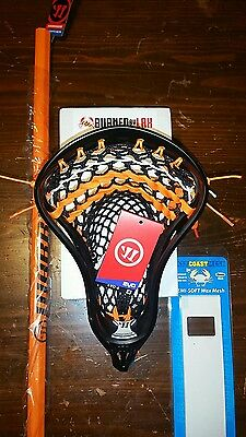 Warrior EVO 4 Complete Lacrosse Stick w/ TAGS w/ Soft Mesh