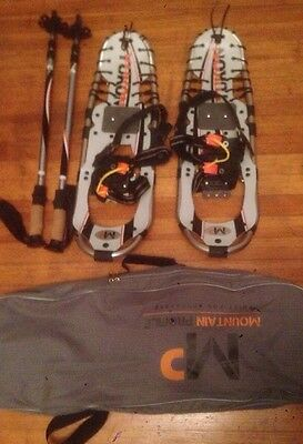 Yukon Charlie Mountain Profile snowshoes kit grey