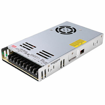 MeanWell LRS-350 350W Enclosed Low Profile Single Output Switching Power Supply,