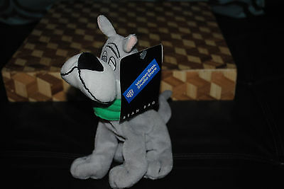 The JETSON'S ASTRO Plush Dog Bean Bag NEW NWT Vintage 1998 Hanna Barbera WB RARE