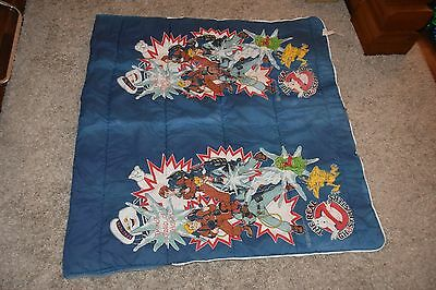 vintage THE REAL GHOSTBUSTERS sleeping bag for kids Im Not Afraid Of Ghosts 1986