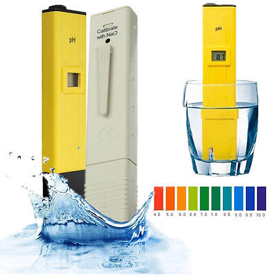 New Digital LCD PH Meter TDS Water Purity PPM Filter Hydroponic Pool Tester B