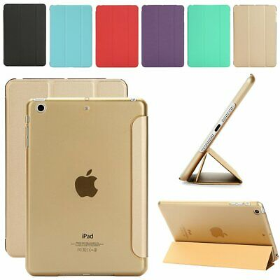 Ultra Slim Magnetic Leather Smart Cover Stand Case for Apple iPad 2/3/4 Mini Air