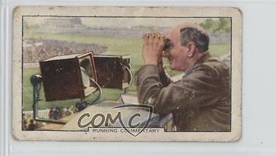 1938 Gallaher Racing Scenes Tobacco Base #33 Running Commentary Card 1i3