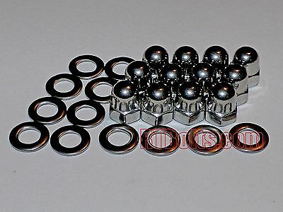 (12) Metric 5mm Acorn Cap Nuts Safety Show Dome Hex Stainless Steel M5 Thread