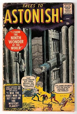 MARVEL Comics TALES TO ASTONISH  #1 rare   GVG 3.0  PRE Ant man