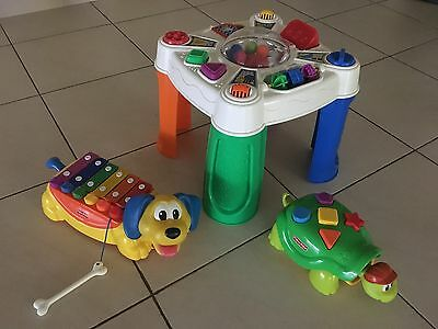 Fisher Price Toy Bundle including play table