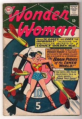 DC Comics WONDER WOMAN Vol 1 1965 156 Silver age VG-  3.0  batman