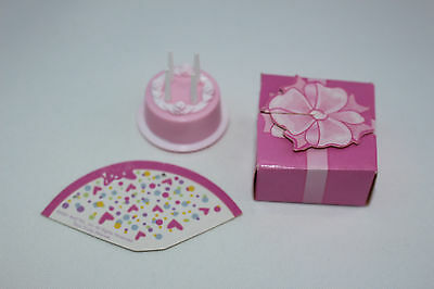 Birthday Barbie Cake Candles  gift and fan Replacement Spares  B50