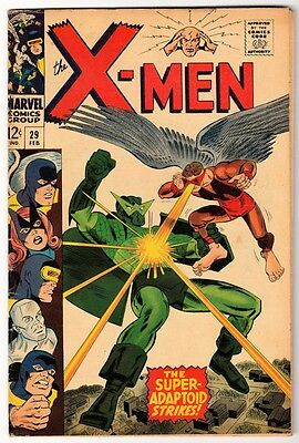 MARVEL Comics X MEN uncanny Silver age #29 1966 VG