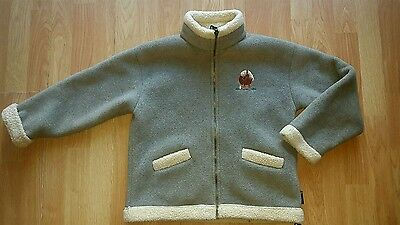 SHIRES CLASSIC Girls Equestrian Fleece Horse Pony Zip Up Jacket Size 13-14 Yrs