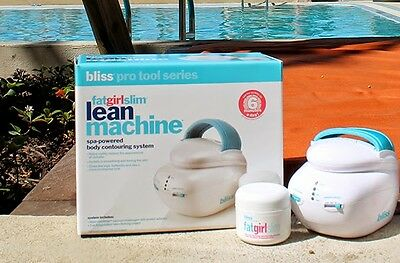 NEW IN BOX  Bliss FatGirlSlim Lean Machine With 2oz Skin Firming Cream FREE SHIP