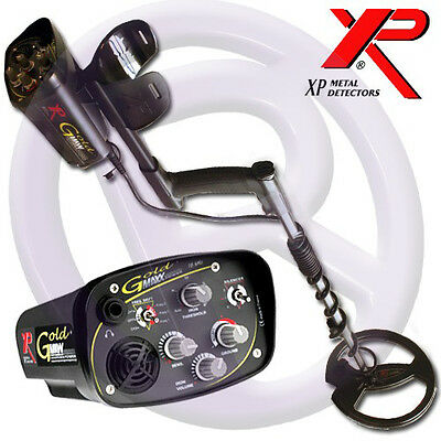 "XP Goldmaxx Power with 9"" Coil  Metal Detector 5yr Warranty!"