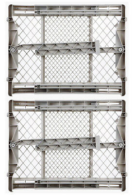 North States Top-Notch Pressure Mounted Baby / Pet Safety Gate | 8699 (2-Pack)