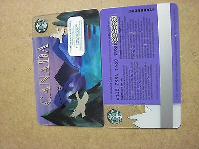 2017 Starbucks CANADA GOOSE  RELOADABLE GIFT CARD FREE SHIPPING NEW ncv
