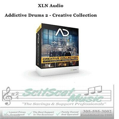New XLN Audio Addictive Drums 2: Creative Collection Mac/PC VST AAX AU Software