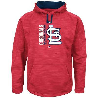 Majestic St. Louis Cardinals Authentic Icon Hoodie MLB Sweatshirt