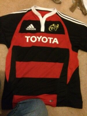 Rare Munster Rugby Shirt Size L