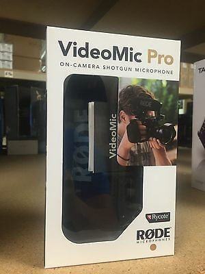 Rode VideoMic Pro R Shotgun Microphone With Rycote Lyre Suspension VMPR ~ MINT!!
