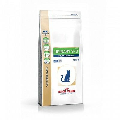 Croquettes Royal Canin Veterinary Diet Urinary High Dilution pour chats Sac 7 kg