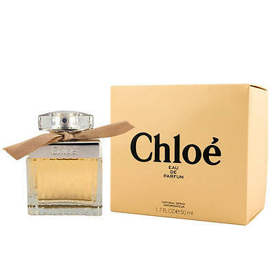 Original Chloé EAU DE PARFUM EDP natural spray 50 ml NEW