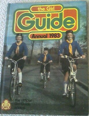 Official Girl Guide Annual 1983 Clipped