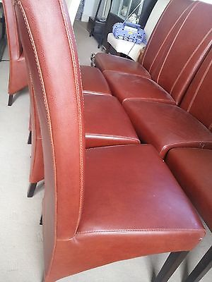 Dining Chairs 8 Leather