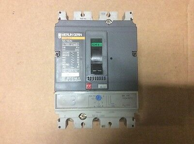 Merlin Gerin NS 160N Circuit Breaker MCCB
