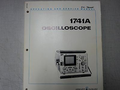 HP/AGILENT 1741A Oscilloscope  Manual With Schematics and List of Components